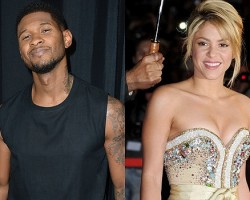 Usher, Shakira - Getty