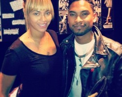Beyonce and Miguel - Instagram