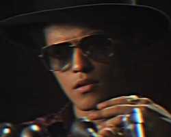 "Bruno Mars in ""Locked Out Of Heaven"""
