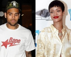 Chris Brown, Rihanna - PCN, Getty