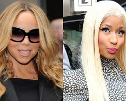 Mariah Carey, Nicki Minaj - Getty