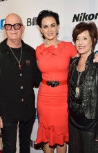 Katy and parents Billboard WIM