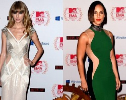 Taylor Swift, Alicia Keys - Getty