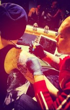 adam lambert new tattoo 2012 3
