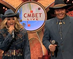 Carrie Underwood and Jimmy Fallon