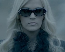 "Carrie Underwood in ""Two Black Cadillacs"""