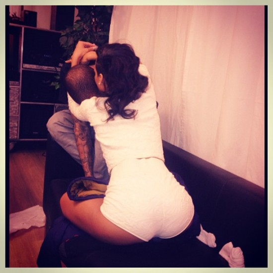 rihanna and chris brown together 2012