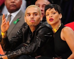Chris Brown and Rihanna - Getty