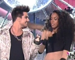 adam lambert and kelly rowland vh1 divas 2012