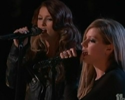 Cassadee Pope and Avril Lavigne