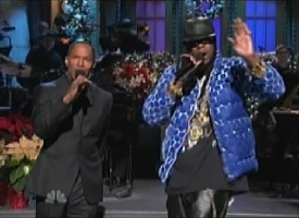 Jamie Foxx and 2 Chainz SNL