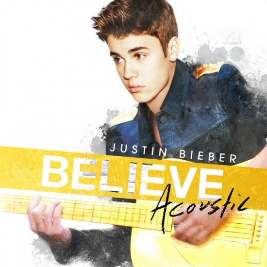 Justin Bieber Believe Acoustic album cover