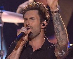 Maroon 5 grammy nominations concert live 2012