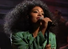 Solange Jimmy Fallon performance