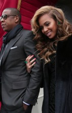 Beyonce and Jay-Z Inauguration 2