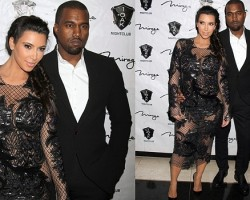 Kim Kardashian and Kanye West - PCN