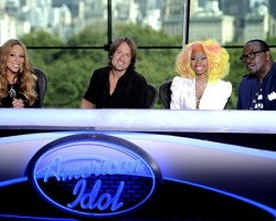 Mariah Carey, Keith Urban, Nicki Minaj, Randy Jackson - Fox