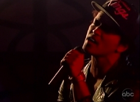 bruno mars jimmy kimmel 1-10-13
