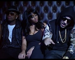 "Ne-Yo and French Montana in ""Let Me Love You (Remix)"""