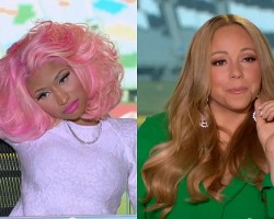nicki and mariah idol fight