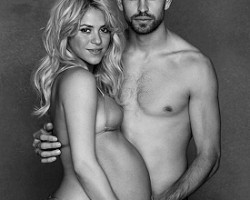 Shakira and Gerard Pique - Twitpic