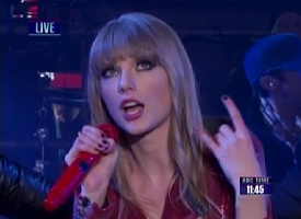 taylor swift new years rockin eve