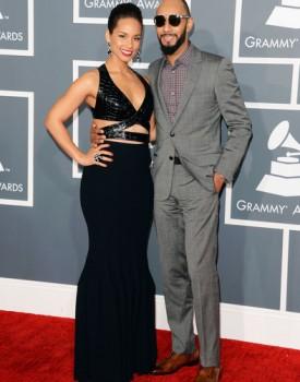 Alicia Keys and Swizz Beatz Grammys
