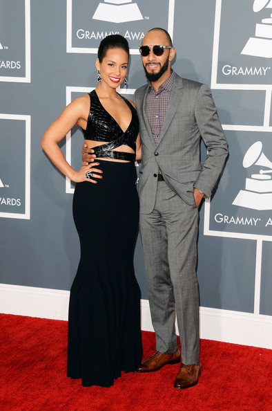 Alicia Keys and Swizz Beatz Grammys