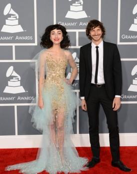 Gotye and Kimbra Grammys