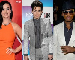 Katy Perry, Adam Lambert, Ne-Yo - Getty