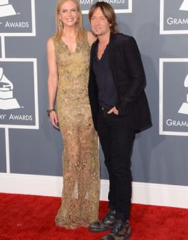 Nicole Kidman and Keith Urban Grammys