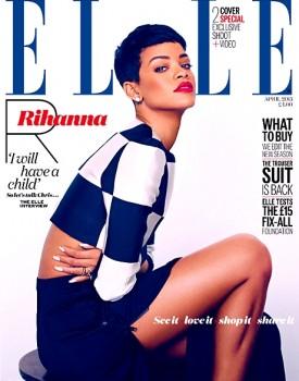 Rihanna Elle UK 1
