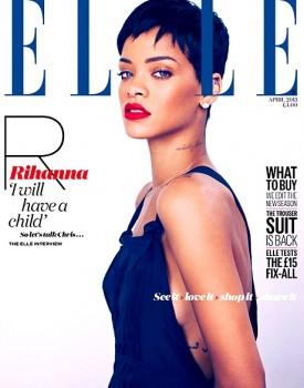 Rihanna Elle UK 2