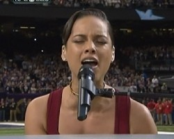 alicia keys super bowl