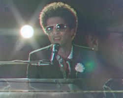 "Bruno Mars in ""When I Was Your Man"""