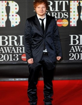 ed sheeran brit awards 2013