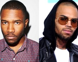 Frank Ocean, Chris Brown - Facebook, Getty