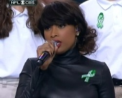 jennifer hudson super bowl xlvii