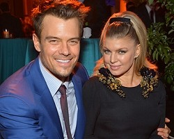 Josh Duhamel and Fergie - Getty