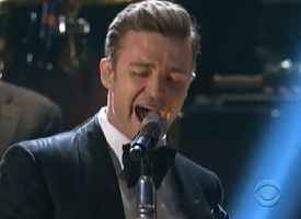 justin timberlake grammys 2013 video
