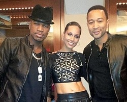 Ne-Yo, Alicia Keys, John Legend