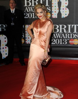 rita ora brit awards 2013