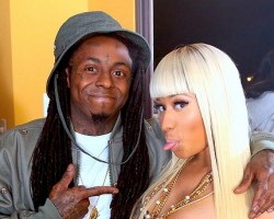 Lil Wayne and Nicki Minaj - Twitter