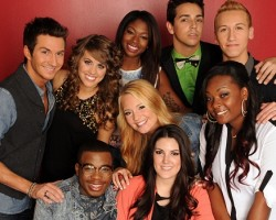 American Idol season 12's top 9 - FOX
