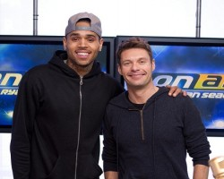 Chris Brown and Ryan Seacrest - Twitter