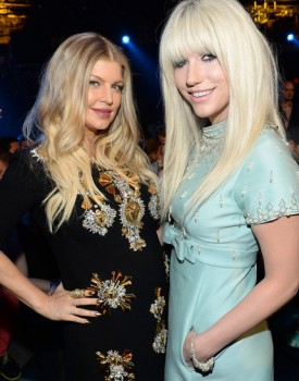 Fergie and Kesha NewNowNext