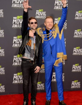 Macklemore and Ryan Lewis MTV Movie Awards