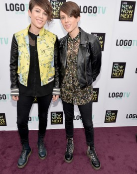 Tegan and Sara NewNowNext 1