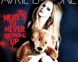 avril lavigne heres to never growing up single cover