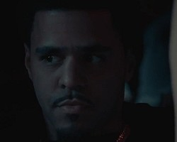 "J. Cole in ""Power Trip"""